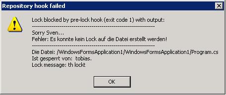 pre-lock